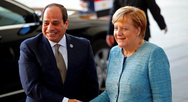 گفتگوی تلفنی مرکل و سیسی در خصوص تحولات لیبی