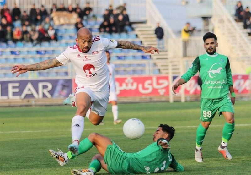 لیگ برتر فوتبال، پیروزی تیم دوم زنوزی مقابل تیم اول او، تراکتور بدون دنیزلی هم باخت