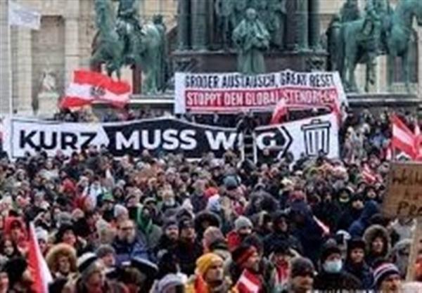 برگزاری اعتراضات ضد محدودیت ها در برلین و وین، هشدار اتحادیه صنایع آلمان درباره عواقب تشدید کنترل های مرزی